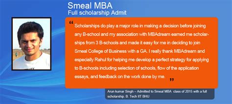 Smeal Mba Admission Requirements by Mba Admission Consultants Business School Application