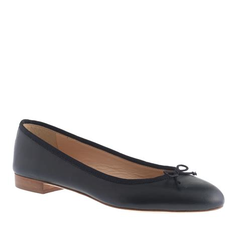 shoes flats black j crew ballet flats in black lyst