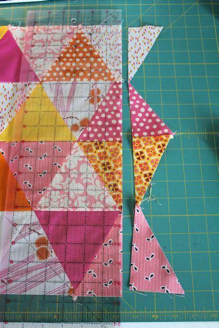 Triangle Patchwork Quilt Patterns - best 25 triangle quilt tutorials ideas on