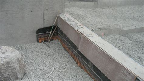 basement wall drainage mat thompson foundations 171 home building in vancouver