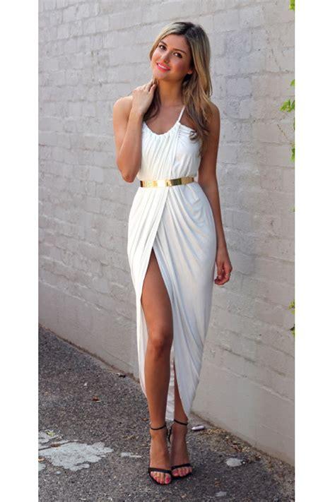 zoe maxi dress white esther clothing australia and