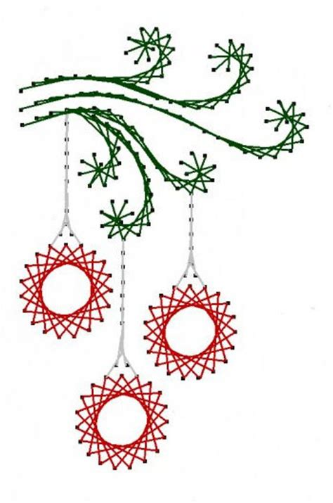 paper christmas ornaments patterns swirl ornaments paper embroidery pattern for