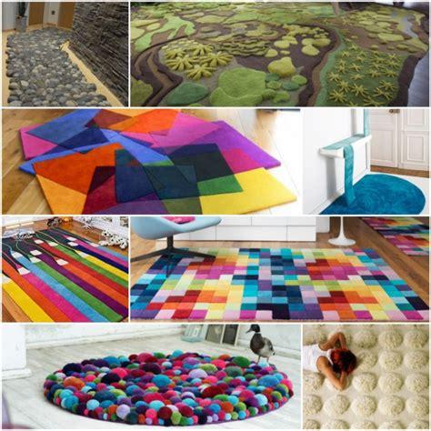 bunter teppich 25 aufgefallene designer teppiche f 252 r jeden wohnraum