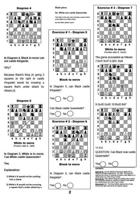 printable chess instructions beginners chess rules printable for beginners search results