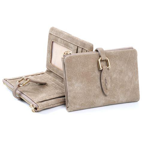 Leaf Wallet Pink ms brief dompet wanita kecil lipat leaf buckle paragraph
