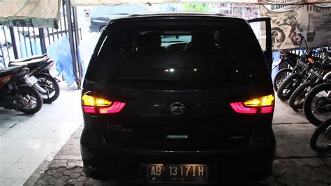 Tv Mobil X Gear nissan grand livina custom light