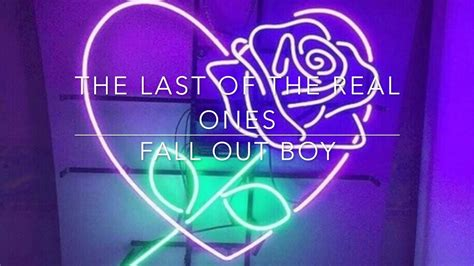 the real com fall out boy the last of the real ones lyrics youtube