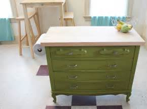 dresser kitchen island repurposed dresser ideas houses plans designs