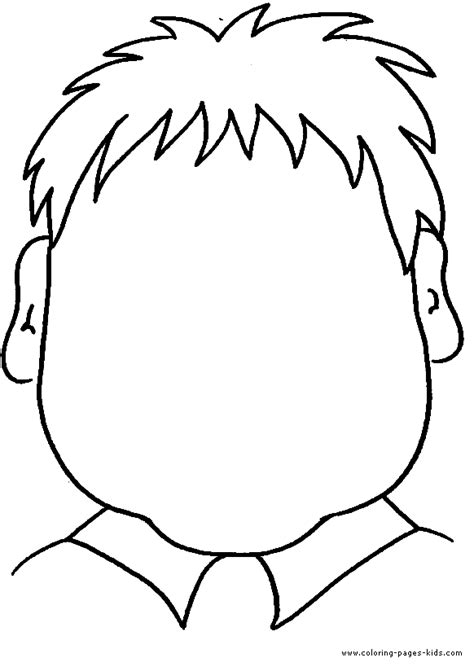 coloring pages of children s faces color page coloring pages for miscellaneous