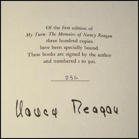 Nancy Reagan Signature | nancy reagan signature reagancollector com ronald reagan