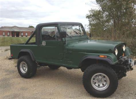 jeep half hardtop purchase used 1983 jeep cj 8 scrambler 4wd hard top