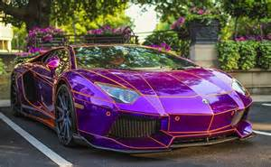 Lamborghini Purple Chrome Purple Chrome Lamborghini Aventador Is Ahead