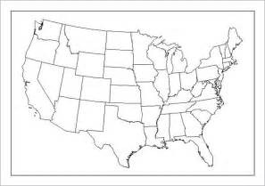 us map outline us maps map of usa political railway us outline map