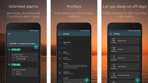Alarm Apps For Heavy Sleepers by 10 Best Alarm Clock Apps For Android Android Authority