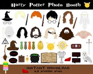Wedding Invitations Durban Harry Potter Photo Booth Props 48 Pieces Printable Harry Potter Props Wizard Party Photo Booth