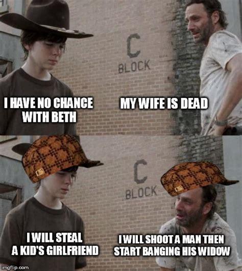 Crying Rick Meme - walking dead rick crying meme www imgkid com the image