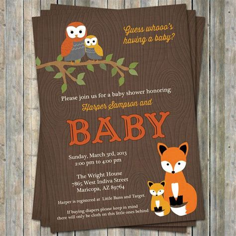 Woodland Baby Shower by Woodland Baby Showers On Rustic Baby Showers