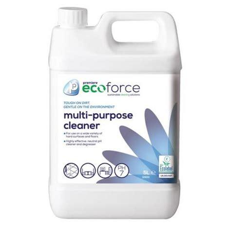 Multi Purpose Cleaner ecoforce ecolabel 5 litre multi purpose cleaner 1 x 11500