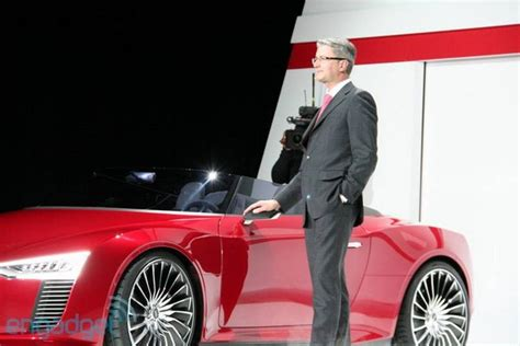 who is the ceo of audi audi ceo ruper stadler taking time with evs refuses to