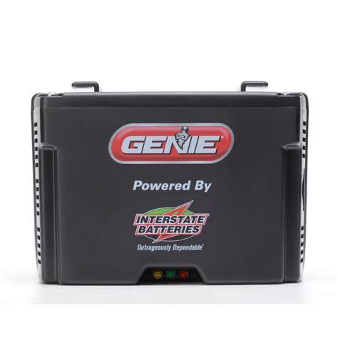 Genie Revolution Series Garage Door Opener Battery Back Up Garage Door Opener Battery