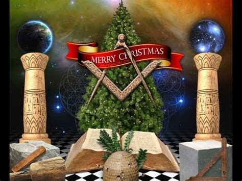 masonic christmas song video pretty christmas trees youtube