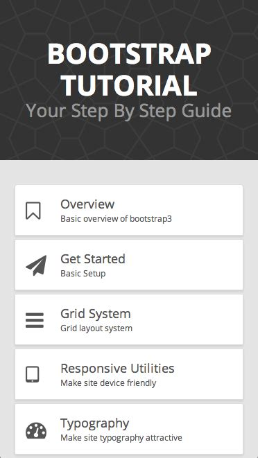 tutorial bootstrap bagian 1 install bootstrap 3 3 6 bootstrap tutorial android apps on google play