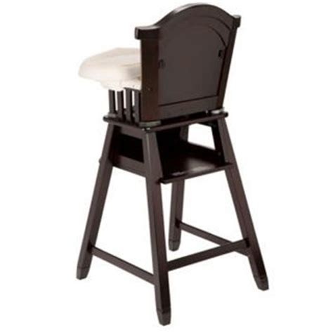 Eddie Bauer Cing Chair by Vintage Wood High Chair Converts To Desk And Walker