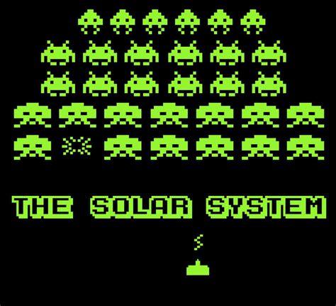 PZ C: the solar system O Alphabet Wallpaper