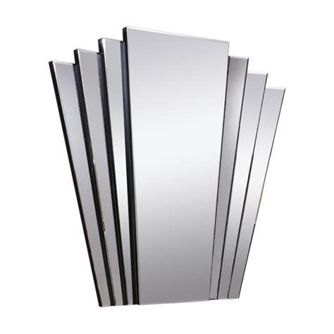 deco fan wall mirror deco mirror gatsby fan tailed wall mirror