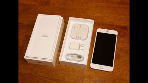 apple iphone 6s plus unboxing