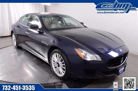 Maserati For Sale In Nj by Maserati Quattroporte For Sale Carsforsale