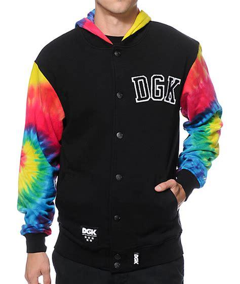 dgk ww tie dye jacket
