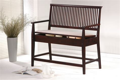 counter high bench homelegance highlander counter height bench with arms 717