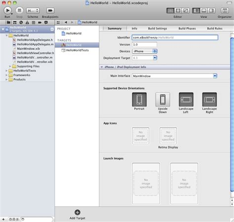 iphone app tutorial xcode 4 creating a simple ios 4 iphone app xcode 4 techotopia