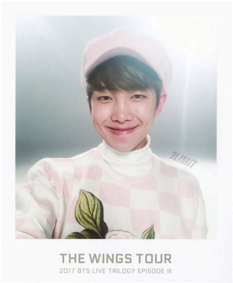 kim namjoon books scan 2017 bts live trilogy episode iii the wings