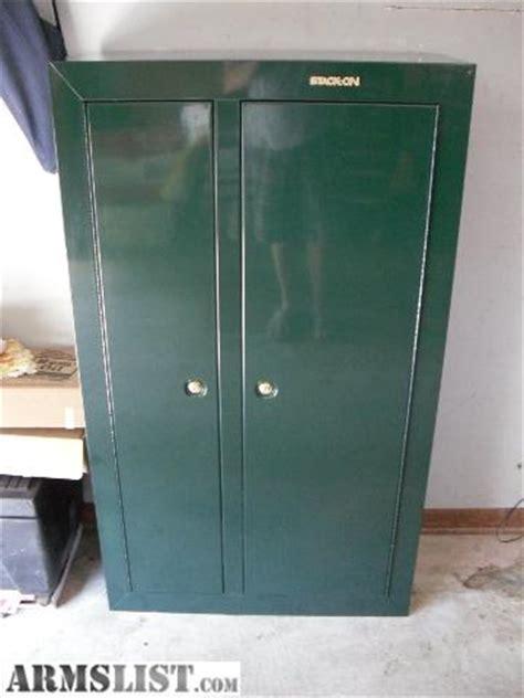 Stack On 2 Door Gun Cabinet Armslist For Sale Stack On 2 Door 10 Gun Security Cabinet