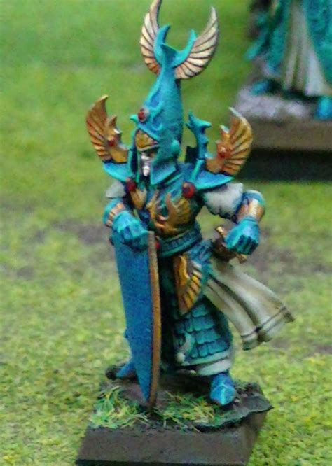 Blue Table Painting by Blue Table Painting High Elves Army For Sale
