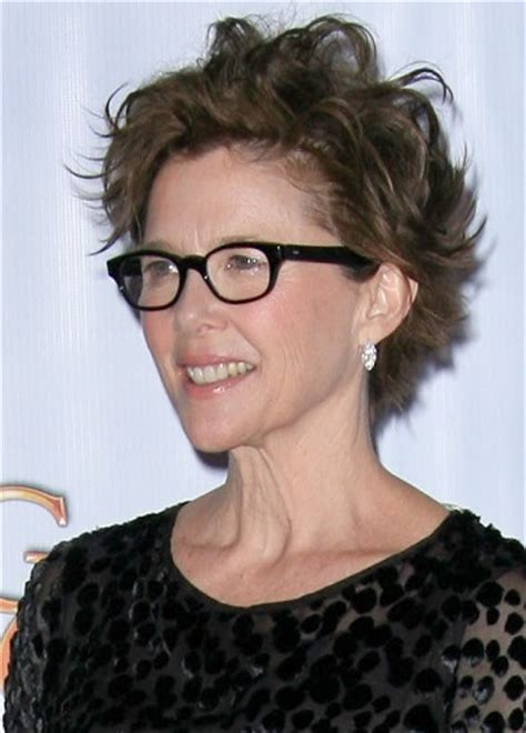 hairstyles: annette bening – bed head short hairstyle