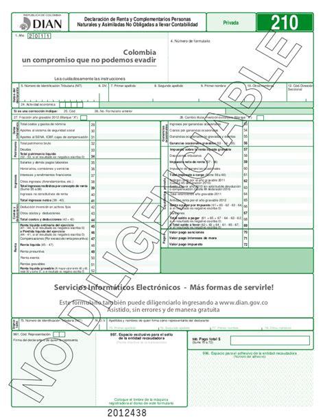 formulario certificado de no declarante de renta para pensionados formulario declaracion renta 2016