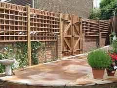 Patio Fence Designs Patio Fencing Ideas