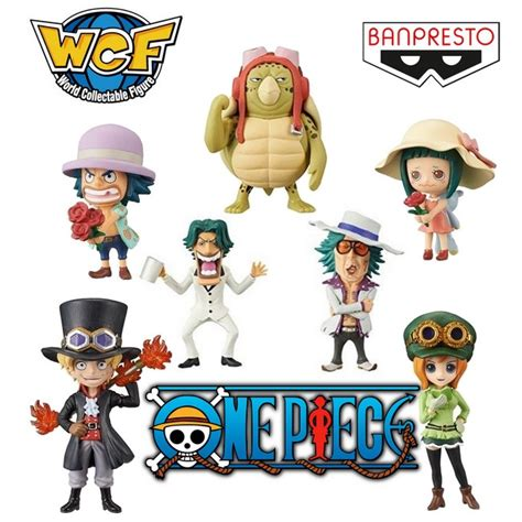 Wcf J Vol 1 8 Set one figurines wcf one gold banpresto vol 4