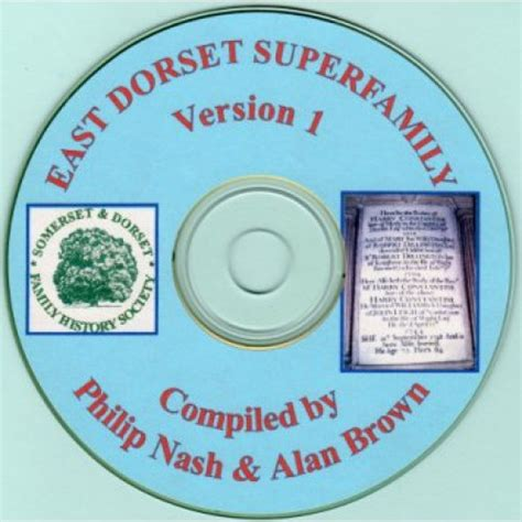 Dorset Marriage Records East Dorset Superfamilies On Cd