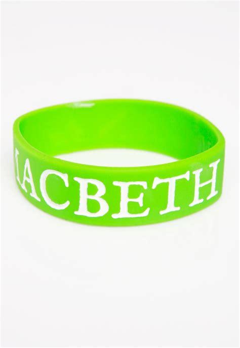 Machbet Vegan macbeth vegan green bracelet impericon worldwide
