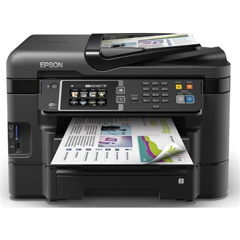 Printer A4 Epson epson workforce wf 3640dtwf a4 colour multifunction inkjet