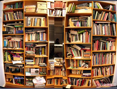 vintage homes of the northwest books 创意图书馆书架 土巴兔装修效果图