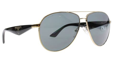 prada sunglasses new prada sunglasses aviator polarized spr 53q gold