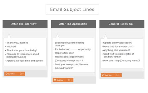10 templates for follow up emails after an application and more