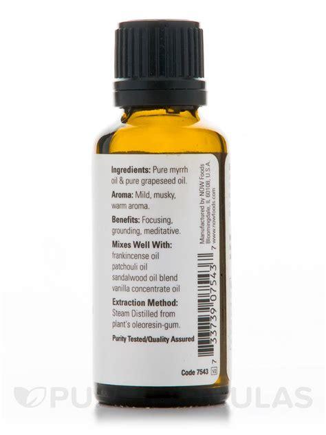 100 Essential 100 Sambac Melati 30ml now 174 essential oils myrrh 100 20 blend 1 fl oz 30 ml