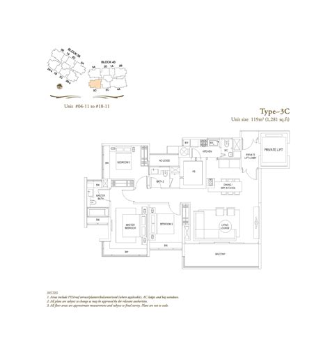 the laurels floor plan 3 bedroom the laurels at cairnhill