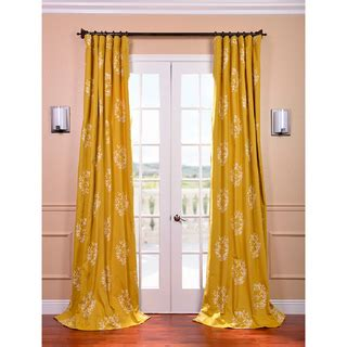 mustard yellow curtain exclusive fabrics isles mustard printed cotton curtain